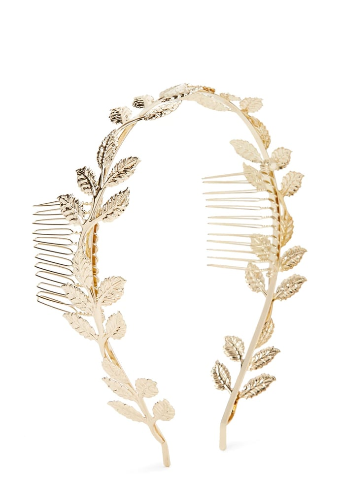You don't have to be a princess to love this dainty Forever 21 Leaf Hairband ($6).
