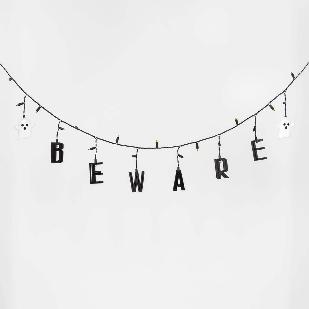 Beware Halloween Garland