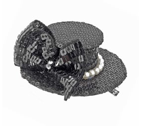 Hair accessories: Topshop top hat