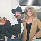 Trisha Yearwood as Garth Brooks in 2017
