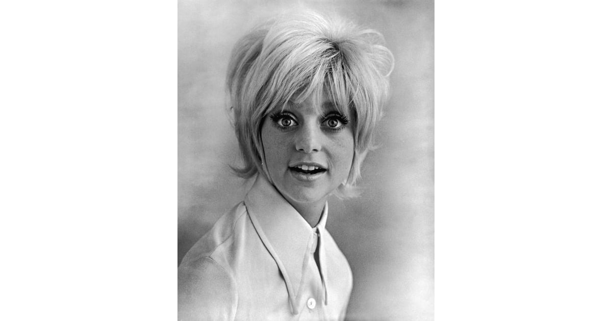 Goldie Hawn S Laugh In Pageboy Hairstyles From The 1960s