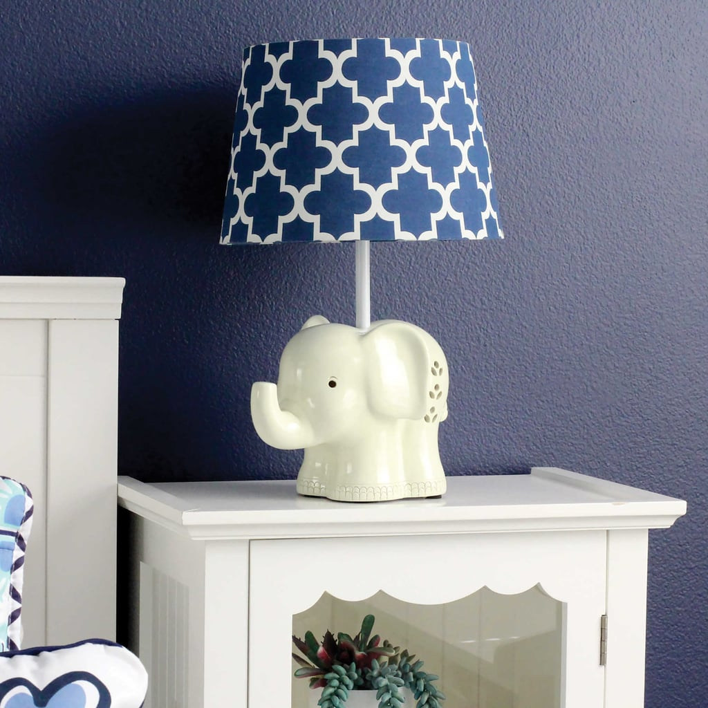 Living Textiles Elephant Lamp Base And Shade