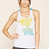 Forever 21 Active Tough Graphic Tank