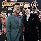Pictured: Chadwick Boseman and Benedict Cumberbatch