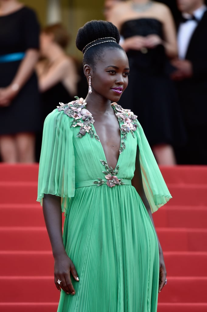 Lupita Nyong'o looked damn near flawless as she walked the red carpet in 2015.