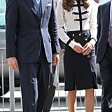Kate Middleton and her husband Prince William.