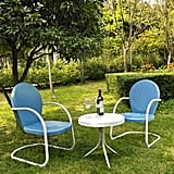 Crosley Furniture Griffith 3-Piece Metal Outdoor Conversation Set