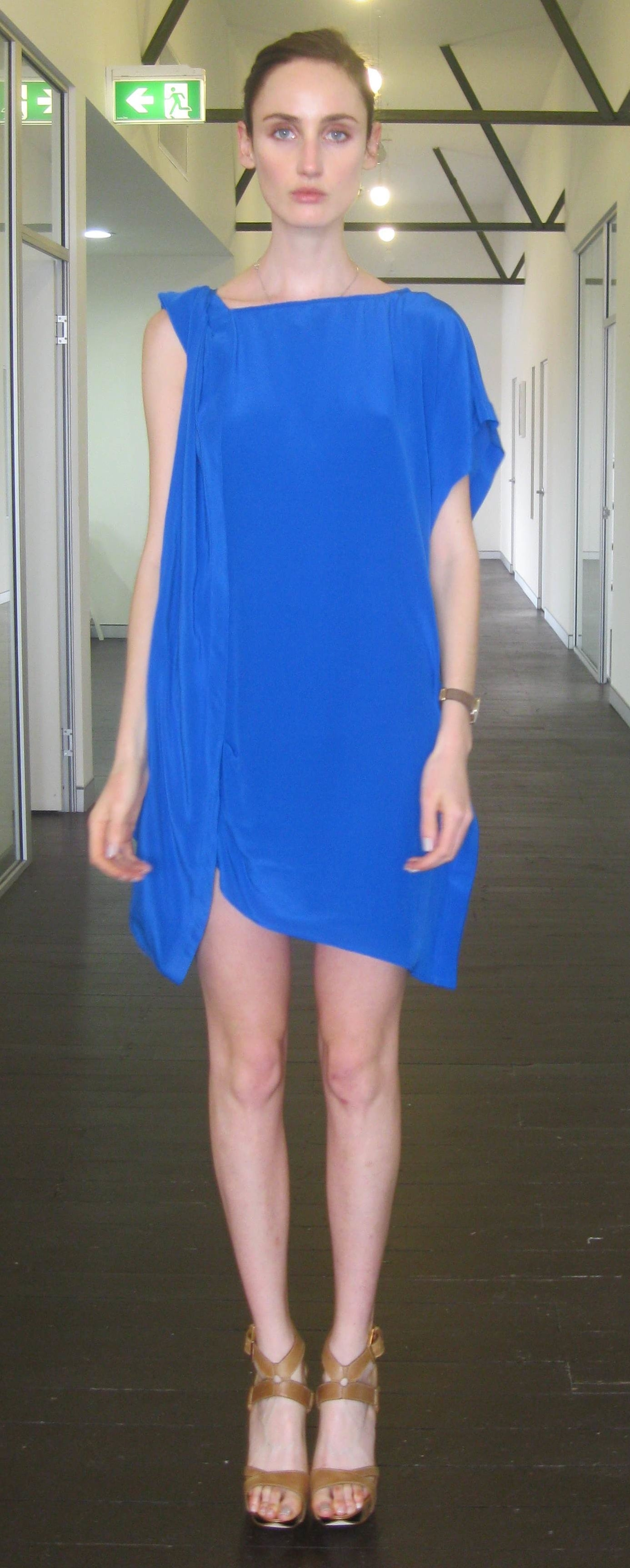 Shots from Manning Cartell's model casting. We like the look of this easy to wear but chic dress!