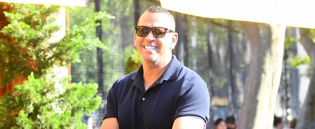 Alex Rodriguez Smiles in Meme-Worthy Solo NYC Outing