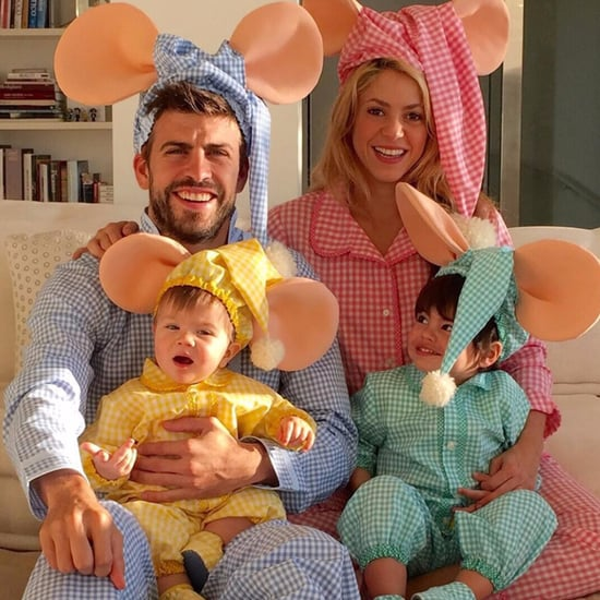Shakira Family Photos on Instagram