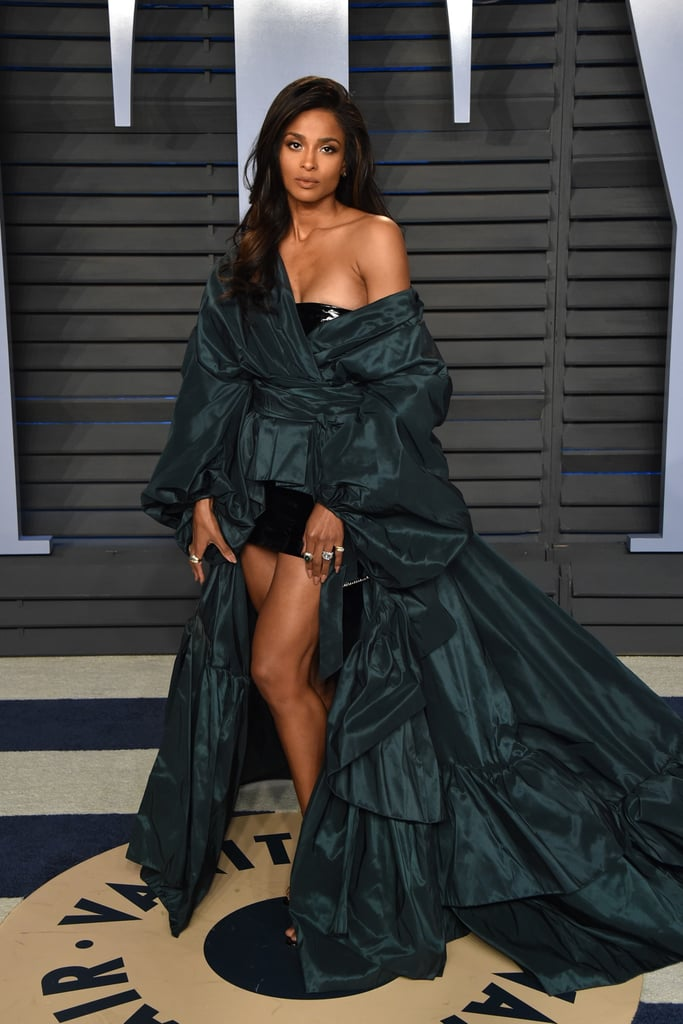 Ciara Vanity Fair Oscars Party Dress 2018