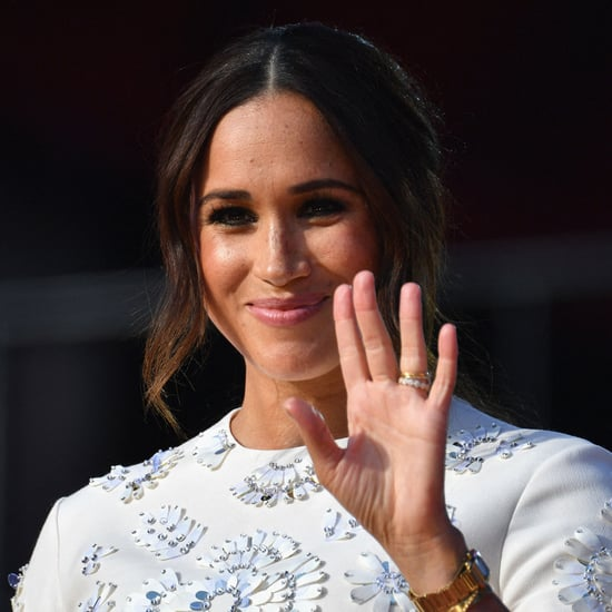 Meghan Markle Carries Dior Bag Named After Princess Diana