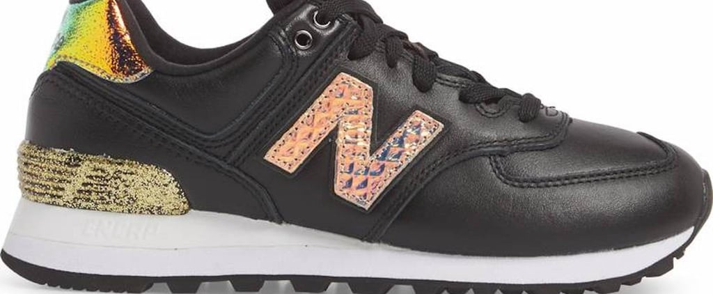 Holy Crap, These New Balance Sneakers Combine Iridescence and Glitter — You Need Them NOW
