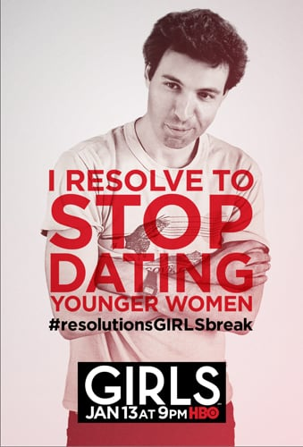 Ray's character poster for Girls.