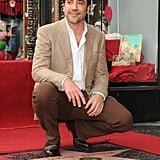 Javier Bardem accepted his star on Hollywood's Walk of Fame.
