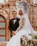 Jasmine Tookes' Zuhair Murad Wedding Dress Is Inspired by Grace Kelly's 1956 Bridal Gown