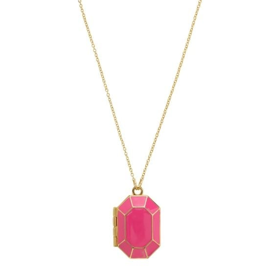 Kate Spade's jewelbar enamel locket ($98) takes me back to the days of hiding secret notes or photos in a locket. — Tara Block, assistant editor