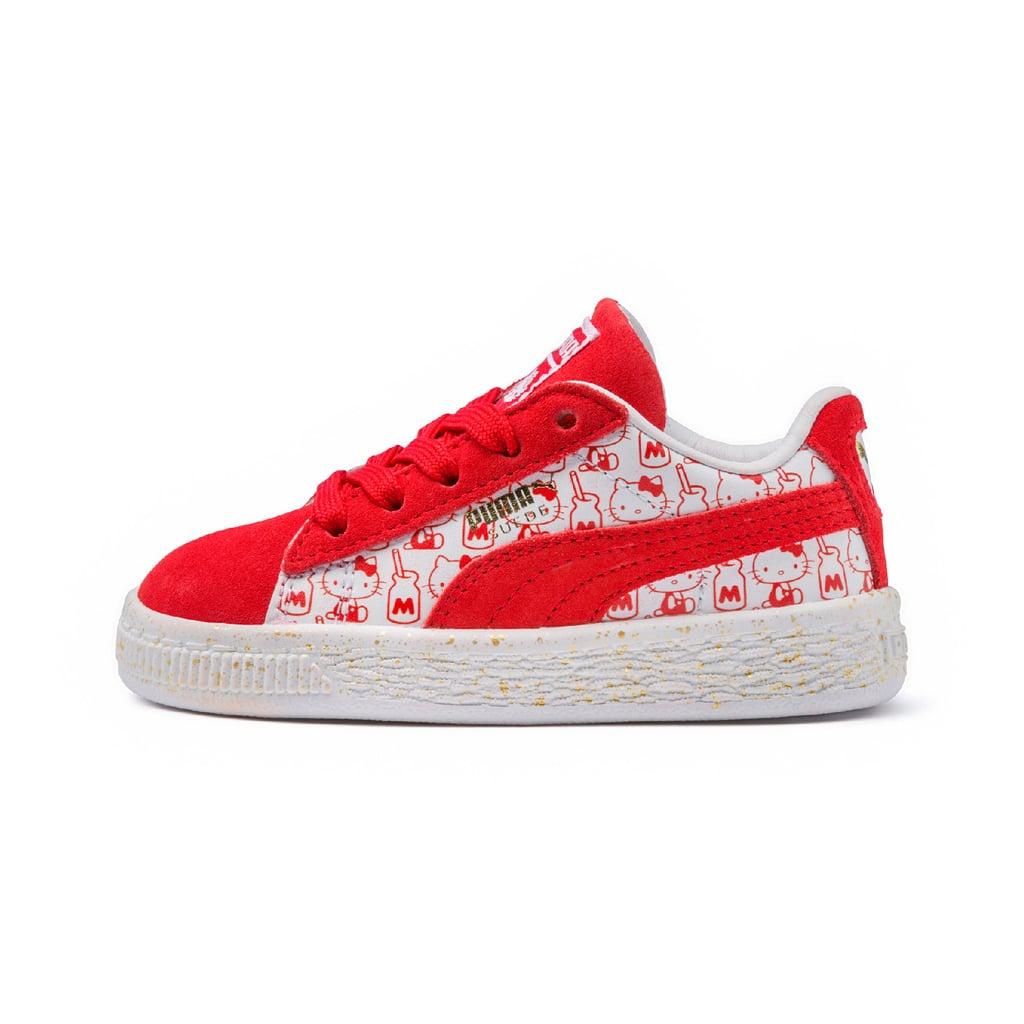 "حذاء ""سويد كلاسيك"" PUMA x Hello Kitty (قياس صغير)، بسعر 295 درهماً إماراتيّاً"