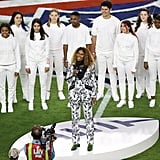"Photos of ""America the Beautiful"" Performance at Super Bowl 54"
