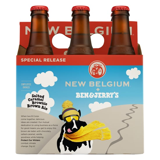 Ben and Jerry's Salted Caramel Brownie Beer