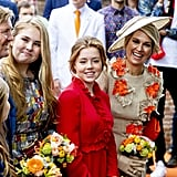 She had her daughters smiling while at a royal event in 2019.