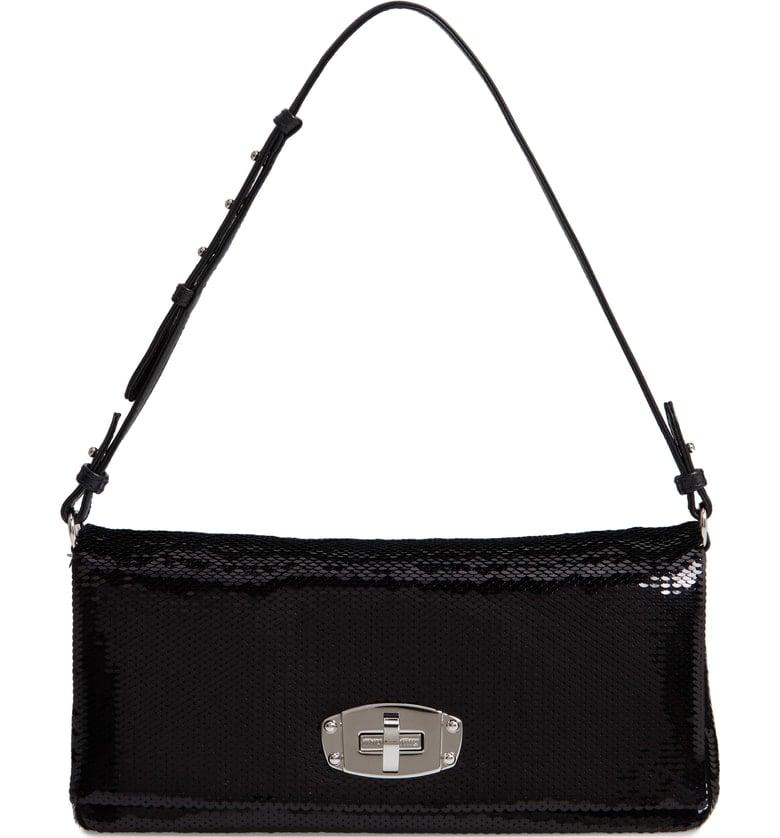 Miu Miu Paillettes Shoulder Bag