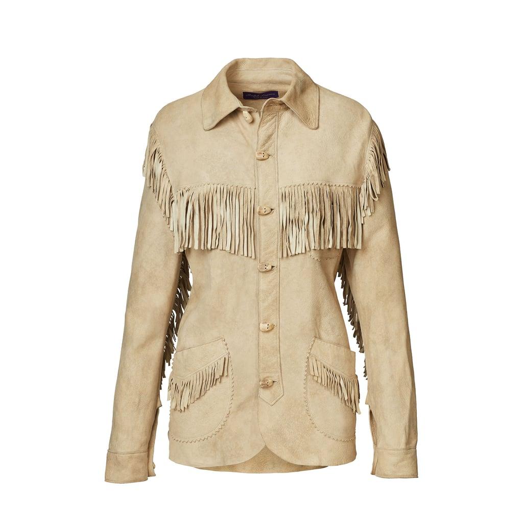 Garrison Suede Shirt Jacket ($3,990)