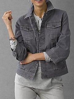 I've been searching for a gray denim jacket for a while now, and I think this J. Jill Jean Jacket ($30, originally $79) works.
