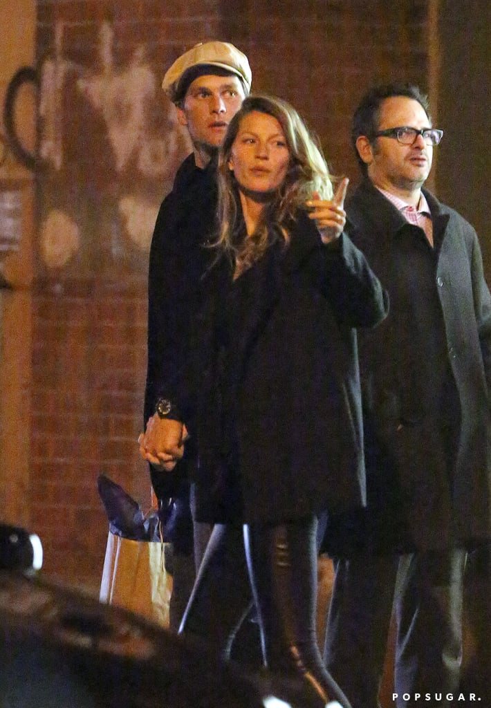Tom Brady and Gisele Bündchen shared an NYC date night.