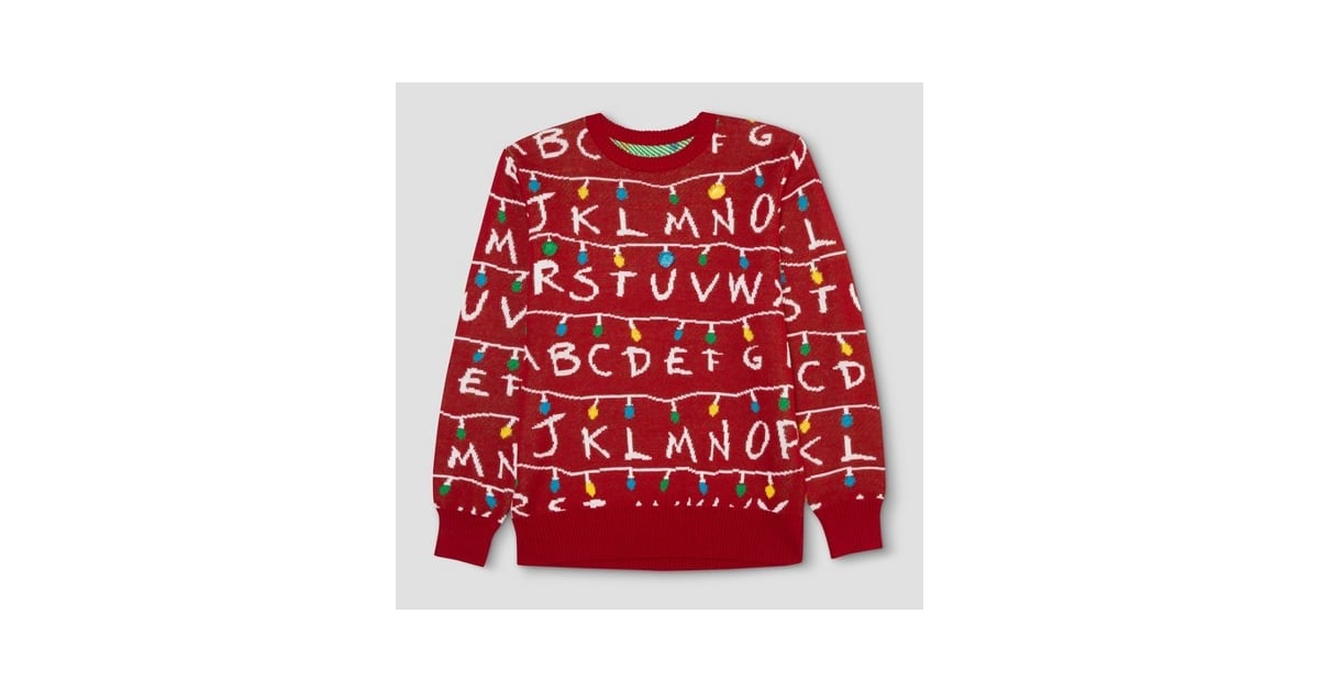 Stranger Things Ugly Holiday Light Up Sweater Gifts For People Who