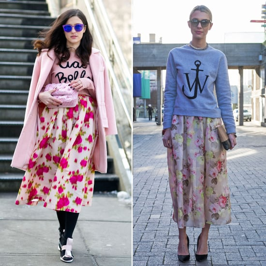 Street Style Trend at Fashion Week Fall 2014