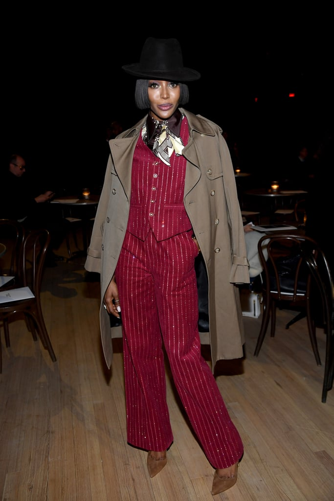 Naomi Campbell at the Marc Jacobs Fall 2020 Show