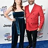 Pictured: Chelsea Peretti and director Jordan Peele
