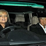Pictures of David Beckham and Victoria Beckham Leaving Gordon and Tana Ramsay's Holiday Party