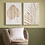 Graham & Brown Palm Leaf Laser Cut Wood Wall Art