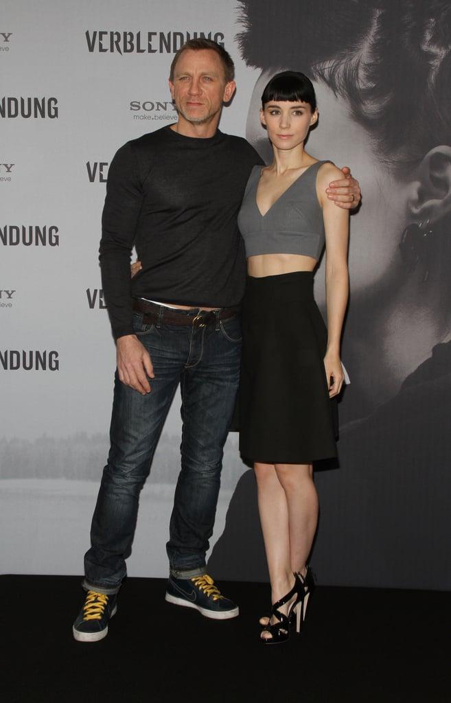 Daniel Craig and Rooney Mara were together in Berlin.