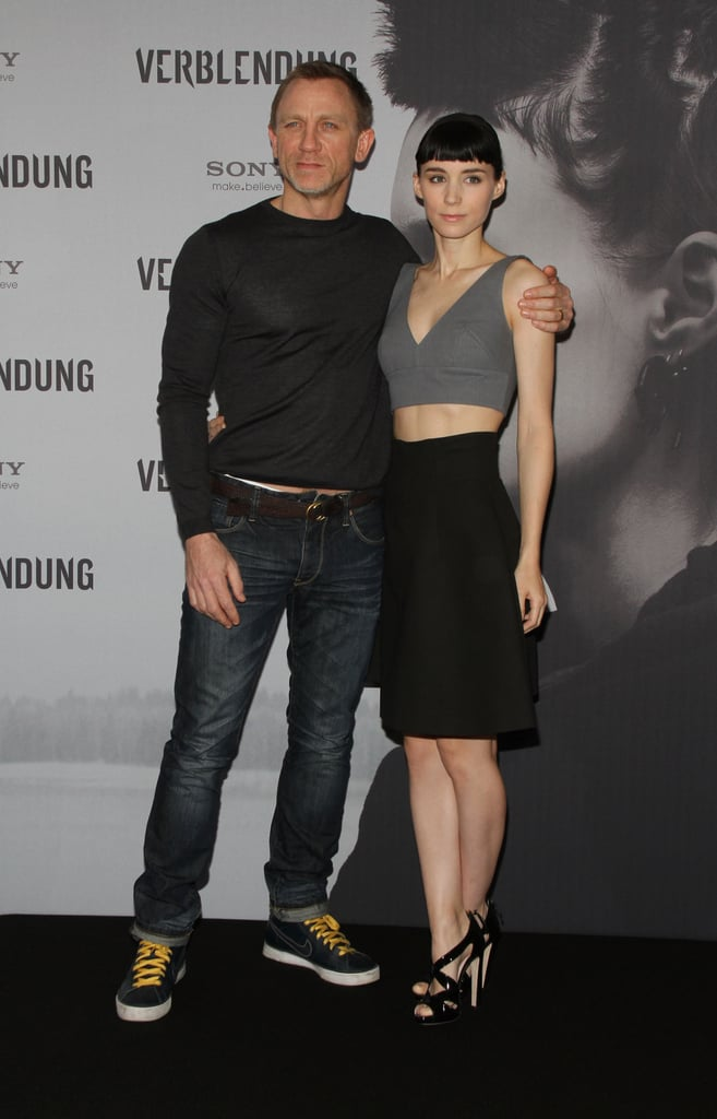 Daniel Craig and Rooney Mara were together in Berlin.
