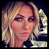 Julianne Hough proves smoky eyes and bold brows are a classic pair. Source: Instagram user juleshough
