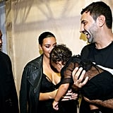 And When Riccardo Tisci Tried to Cuddle With Her (Again)