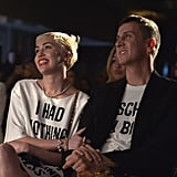 Miley Cyrus and Jeremy Scott at the Daily Front Row Fashion Los Angeles Awards