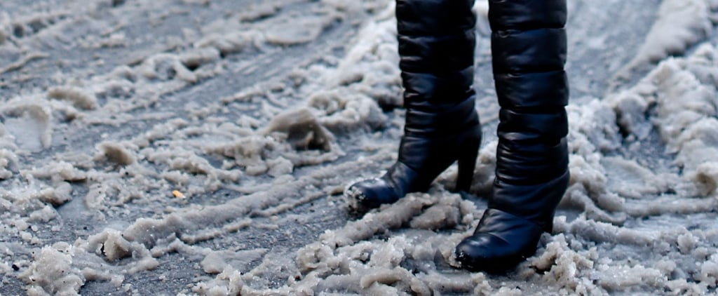 How to Clean Snow Salt From Leather Boots