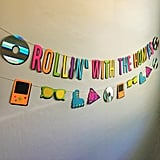 '90s Party Banner