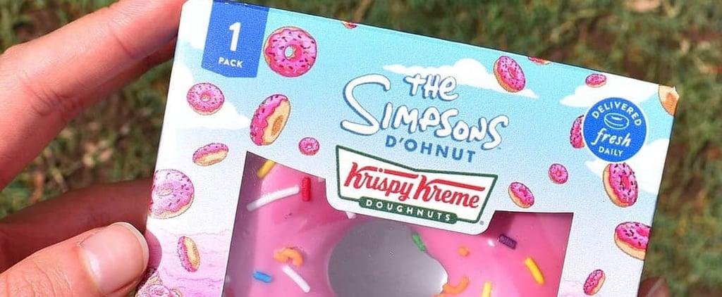 The Simpsons Krispy Kreme Doughnut