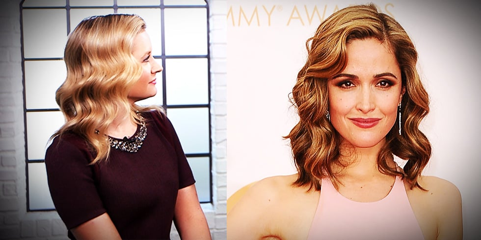 Rose Byrne Emmys 2013 Hair How-To | Video