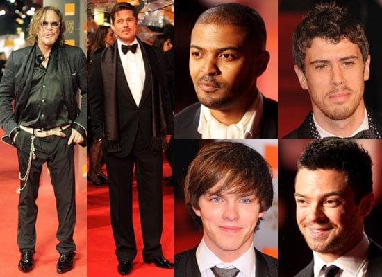 08/02/2009 BAFTAs Men Red Carpet
