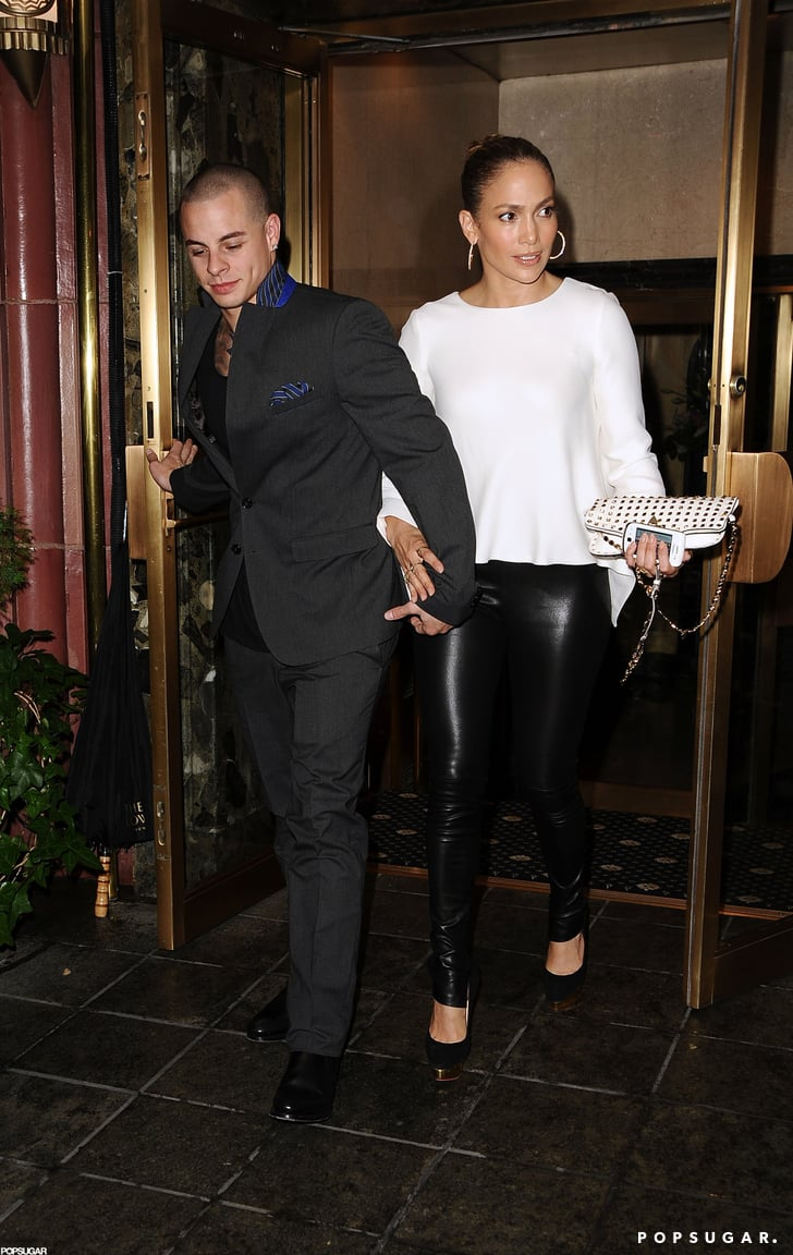 Jennifer Lopez and Casper Smart dined together in NYC.