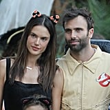 Alessandra Ambrosio's Halloween Costumes
