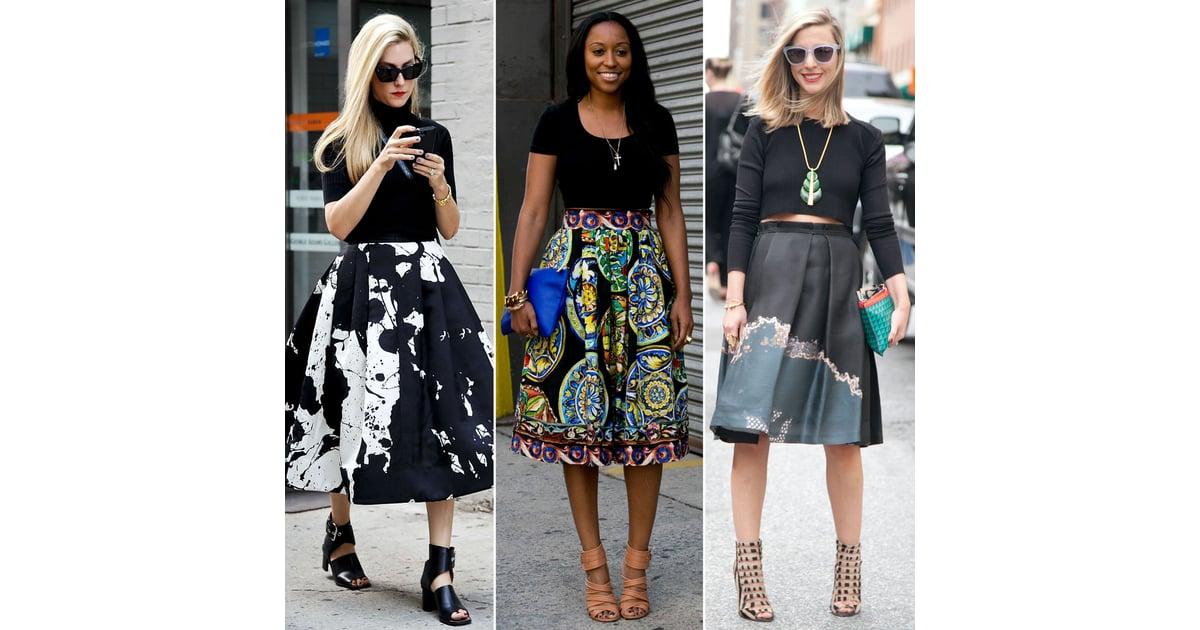 London Fashion Week Street Style Trend Popsugar Fashion