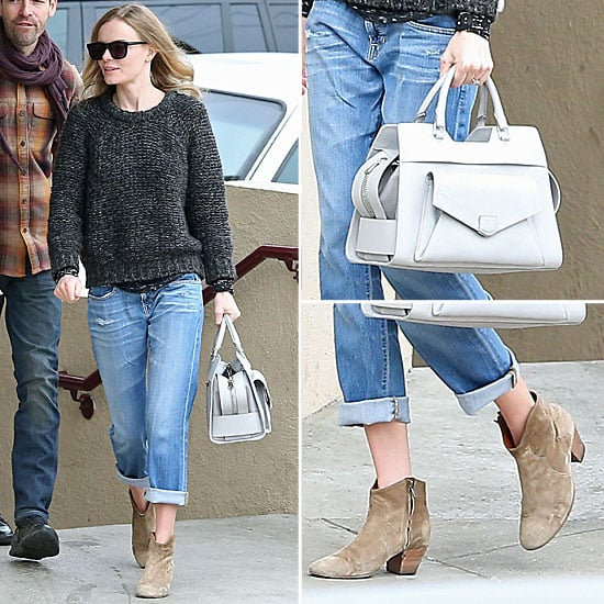 Kate Bosworth Isabel Marant Boots   Dec. 26, 2012
