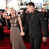Pink and Carey Hart held hands at the American Music Awards.